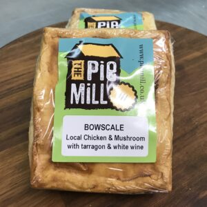Bowscale Chicken and Mushroom Pie