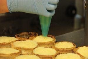 making Pie Mill pies
