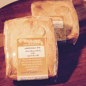 Grizedale Pork Cumberland Sausage & Apple Pie